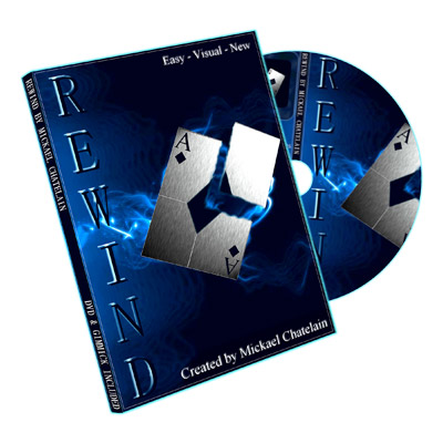 Rewind (Gimmick and DVD, RED) by Mickael Chatelain - Trick