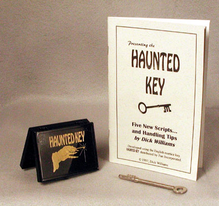Haunted Key Booklet Royal