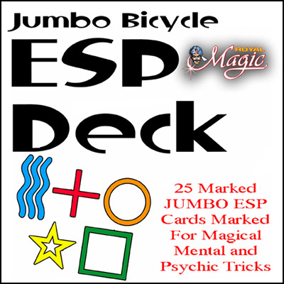 Jumbo Marked ESP Decks (Bicycle)
