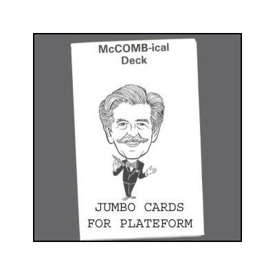 McComb-ical Deck (Jumbo) by Royal Magic - Trick