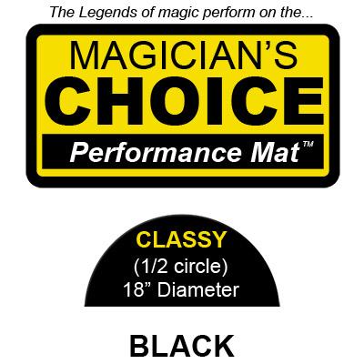 Tapete para Trucos de Magia Classy (NEGRO - 45.75 cm) - Ronjo
