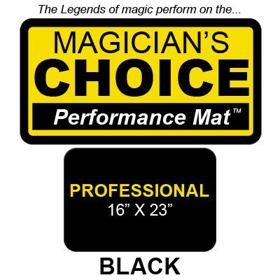 Professional Tapeta para Trucos de Magia Close-Up (NEGRO - 40.5X58.5 cm) - Ronjo