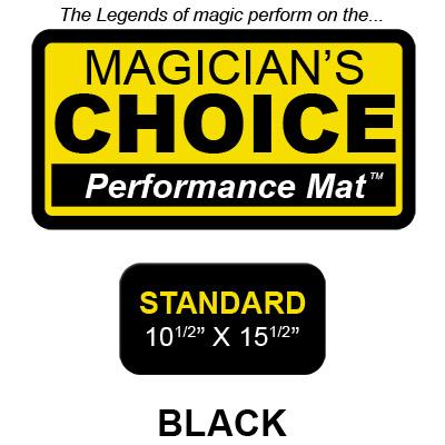 Standard Tapeta para Trucos de Magia Close-Up (NEGRO - 26.5x39.25 cm) by Ronjo