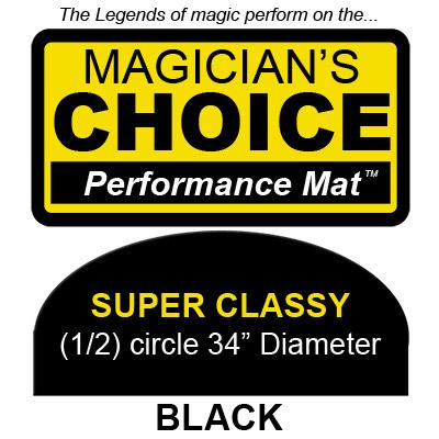 Super Tapete para Trucos de Magia Classy (NEGRO, 86.25 cm) - Ronjo