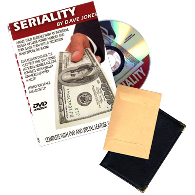 Seriality (con DVD & Wallet) - Dave Jones & RSVP