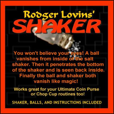 Shaker by Rodger Lovins - Trick
