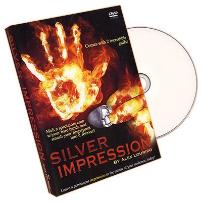 Silver Impression (UK 10p with DVD) by Alex Lourido - Trick