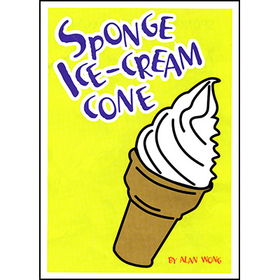 Sponge Ice Cream Cone - Alan Wong