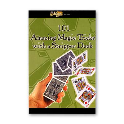 101 Sorprendentes Trucos de Magia con Cartas Stripper Deck - Royal Magic - Libro de Magia