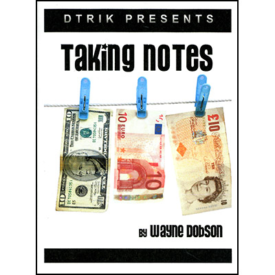Taking Notes by Wayne Dobson - Trick