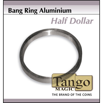 Bang Ring Half Dollar Aluminum by Tango