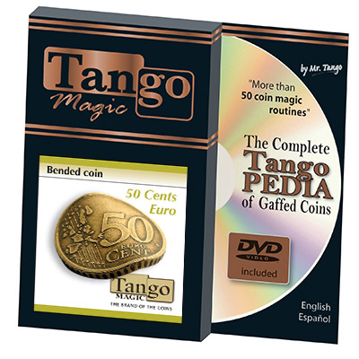 Bended Coin 50 cents Euro by Tango