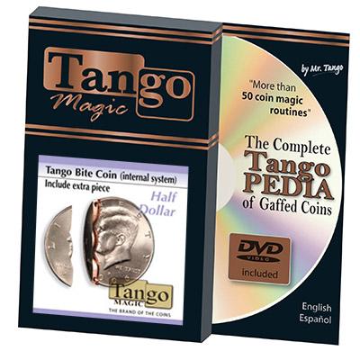 Moneda Mordida y Restaurada con Pieza Extra - Tango