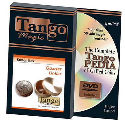 Boston Box (Brass) - US Quarter by Tango Magic