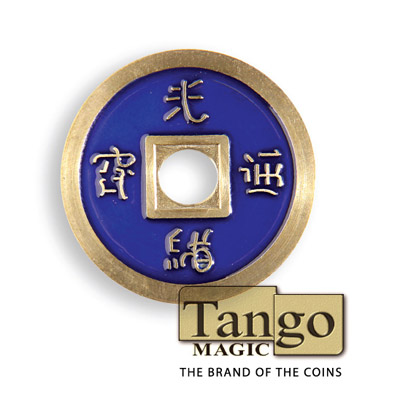 Normal Chinese Coin (Blue) by Tango