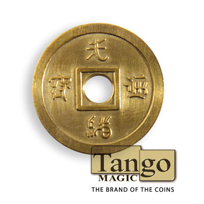 Normal Chinese Coin (Brass) by Tango