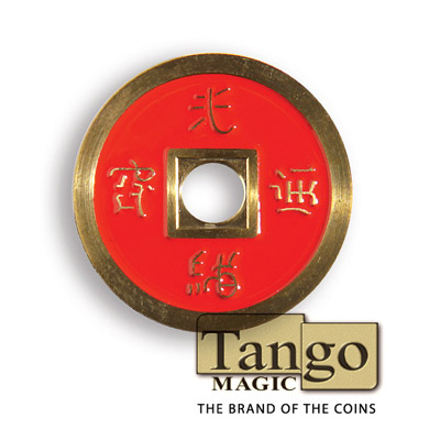 Normal Chinese Coin (Red) by Tango