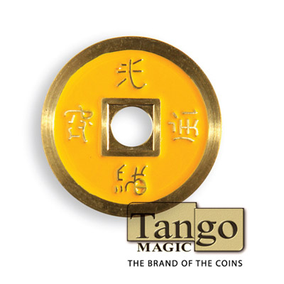 Normal Chinese Coin (Yellow) by Tango