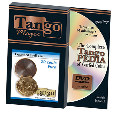 Expanded Shell Coin - 20 Cent Euro by Tango Magic