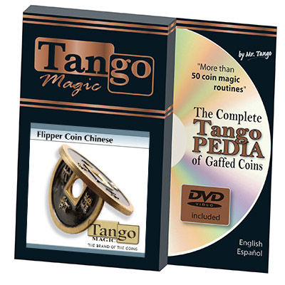 Flipper Chinese Coin Black by Tango