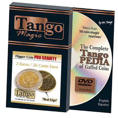 Flipper Coin Pro Gravity 2 Euro/50 cent by Tango
