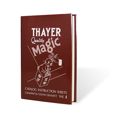 Thayer Quality Magic Vol. 4 - Glenn Gravatt - Libro de Magia