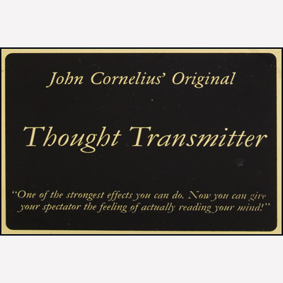 Thought Transmitter - John Cornelius