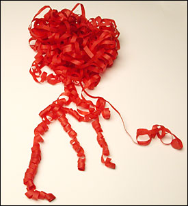 Throw Streamers Cresey (Rojo)