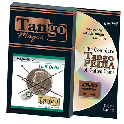 Magnetic Half Dollar Coin - Tango