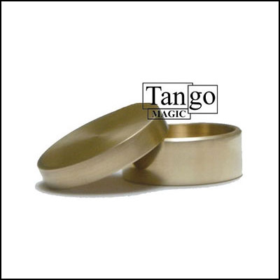 Okito Box Half Dollar Brass by Tango Magic