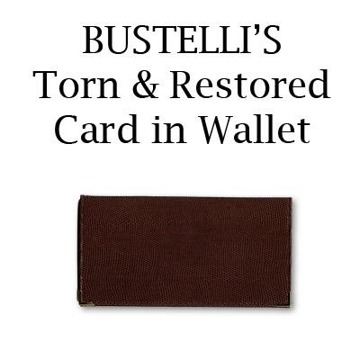 Torn & Restored Card in Wallet - Bustelli