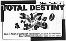 Total Destiny trick - Meir Yedid
