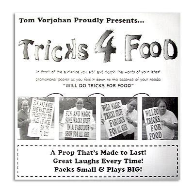 Tricks for Food trick Tom Vorjohan