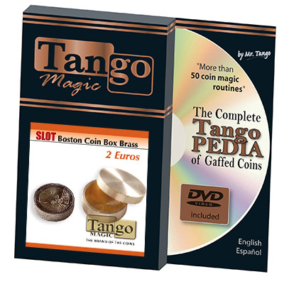 Slot Boston Box Brass 2 Euro by Tango
