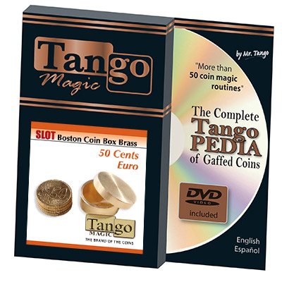 Slot Boston Box Brass 50 cent Euro by Tango