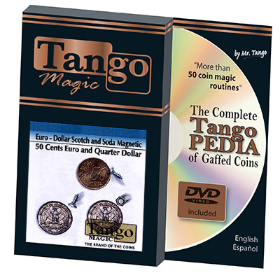 Euro-Dollar Scotch and Soda Magnetic by Tango Magic