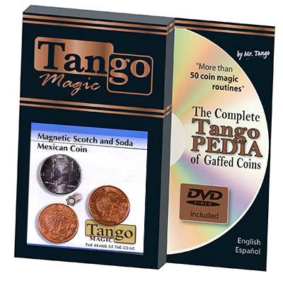 Scotch and Soda Magnetic Mexican Coin by Tango