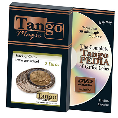 Stack of Coins (2 Euro) by Tango Magic