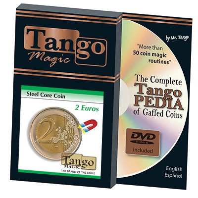 Steel Core Coin (2 Euro) by Tango