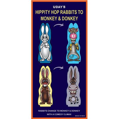 Hippity Hop Rabbits to Monkey & Donkey by Uday -Trick
