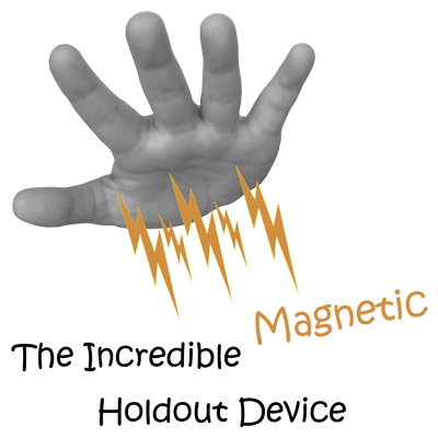 Incredible Magnetic Holdout Device by Visual Magic - Trick