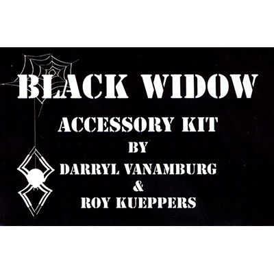Black Widow Accessory Kit by Roy Kueppers - Trick