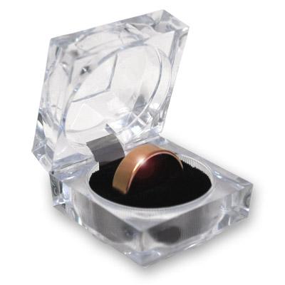 Anillo Wizard PK Ring (DORADO, 17mm, Flat Band) - World Magic Shop
