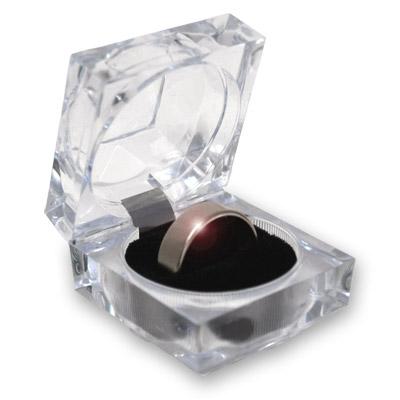 Anillo Wizard PK Ring (PLATEADO, 17mm, Flat Band) - World Magic Shop
