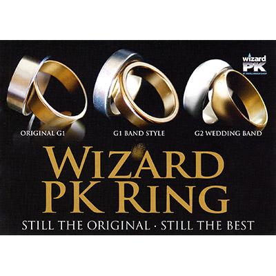 Anillo Wizard PK Ring - Plateado (25mm) - World Magic