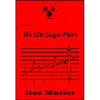 Write Size Pen - Jon Allan