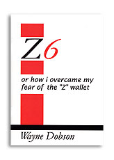 Z-6 Book Only (No Wallet) - Wayne Dobson - Libro de Magia