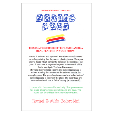 Zodiac Code - Wild-Colombini