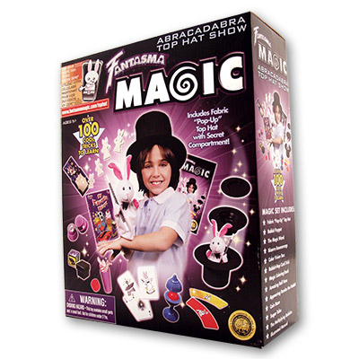 Abracadabra Top Hat by Fantasma Magic - Trick{1306T2332BK}