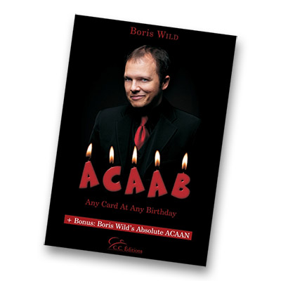 Any Card At Any Birthday (ACAAB) by Boris Wild - Book